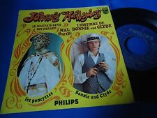 JOHNNY HALLYDAY - L'HISTOIRE DE BONNIE AND CLYDE - PORTUGAL 45 EP