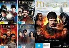The Adventures Of Merlin Series : Season 1 2 3 4 5 : NEW DVD