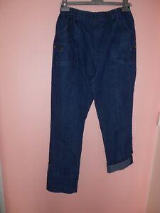 PANTACOURT  jeans 7/8 FEMME - TAILLE 44/46