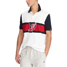 Ralph Lauren The Stadium Polo Shirt P-Wing 1992 White Red L Stadium