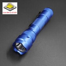 Blue Case UltraFire WF-502B Cree XM-L2 U3 2000LM 5-Modes L2 Led Flashlight Torch