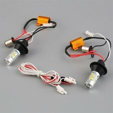 2pcs 1156 Dual-Color Switchback LED Turn Signal Light With DRL Function Kit YT