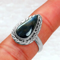 5.19 Gm 925 Sterling Silver Natural Pietersite Rings 8 US High Quality Jewelry $