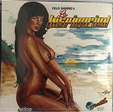 RARE salsa LP  Felo Barrio & La Conspiracion 1986 LA BANDA tu madre VIVIR bella