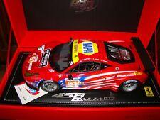Ferrari 458 Italy Gt2 GTE Am le Mans 2012 Team Af Corse Bbr 1/18eme Rare