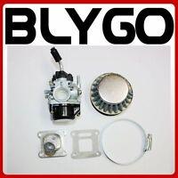 Racing Carby Carburetor+ Adaptor+ Air Filter Mini PIT Pocket Dirt Quad Bike ATV