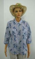 Croft & Barrow women's blouse, 3/4 length sleeves, Size PL