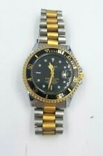 Sharp (Y144A) Scuba Master Ladies Wristwatch with Two-Tone Stainless Steel Band