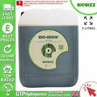 BioBizz Bio Grow 5L - Organic Plant Growth Nutrient Fertiliser - 5 Litres