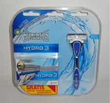 Wilkinson Hydro 3 Nassrasierer Rasierer + 5 Rasierklingen