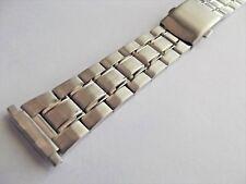 bracciale maglia modello omega longines bottoncini ansa da 16 a 22  mm