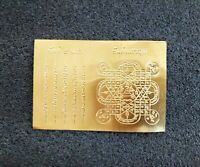 "3.5/""H Thai Brass Buddha Statue PHRA SETTHI NAWAGOT 9Faces Amulet Collectible"