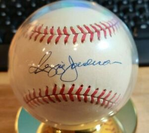1980's Reggie Jackson Autographed Baseball OFFICIAL BALL AMERICAN LEAGUE $ Deal