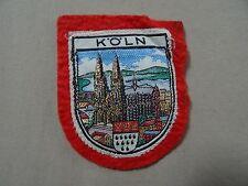VINTAGE   KOLN     PATCH   Cloth  Patch Badge *
