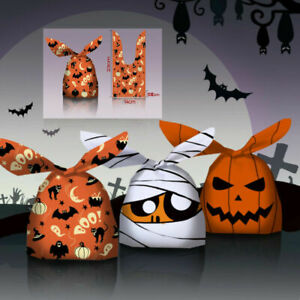 2021 NEW Halloween Ear Party Candy Biscuit Sweet Treat Cookie Gift Bags 2 Sizes