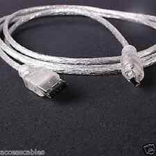 FireWire Cable 6-4pin f/ Canon ZR-950 MiniDV Camcorder