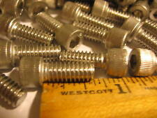 "1/4-20 x 5/8"" Stainless Steel Socket Head cap screw 100  for  $16.99"