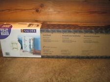 Sauder Standing Quilt Rack, Medium Oak finsh, Brand New In Box 9150-672