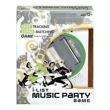 Hasbro I-LIST MUSIC Game For Up To 4 MP3 Players Ages 12+ New