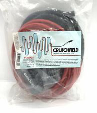 Crutchfeild 8-Gauge Amplifier Wiring Kit Sealed