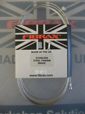 Fibrax Tandem Bike Stainless Steel Inner Brake Cable 3.05m long wire with Donut