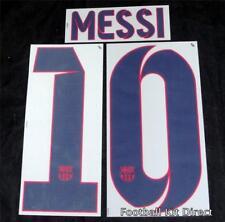 Barcelona Messi 10 Camiseta De Fútbol Nombre/Número Conjunto de Distancia Reproductor de tamaño 2012-2014