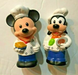 Fisher Price  Little People Walt Disney Mickey Mouse and Goofy Figures