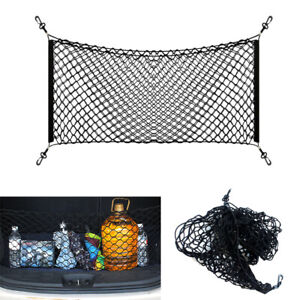 Universal Car Accessories Envelope Style Trunk Cargo Net Storage Organizer Bag #