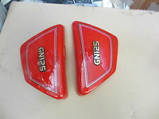 Suzuki GN125   Side panels Pair Red UK seller