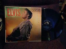 ELVIS Presley LPM 1382 orignal AD back Banded label  LP cover VG LP EX few minor