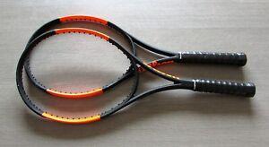 Raquette Tennis WILSON BURN 100 CV S . LOT DE 2 RAQUETTES ( Manche 2-4 1/4 )
