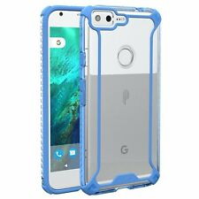 POETIC Affinity Premium Thin Corner Protection Case for  Google Pixel XL Blue