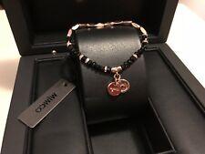 Mimco Rose Gold Memoir Beaded Wrist Jewellery Bracelets Bangles Authentic