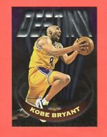 1997-1998 Topps  Basketball Destiny #D5 Kobe Bryant Embossed RARE READ !!