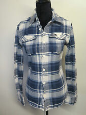 Genuine Superdry Thick Cotton Check Shirt - S UK 8 Euro 36
