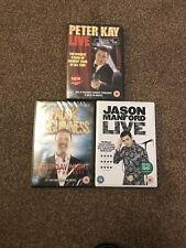 British Comedians DVD's- Peter Kay, Paddy McGuinness & Jason Manford