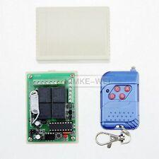 Récepteur de télécommande sans fil RF 4 canaux 315mhz