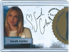 SARAH CARTER  2005 INKWORKS UNCIRCULATED Auto AUTOGRAPH Alicia in SMALLVILLE S4