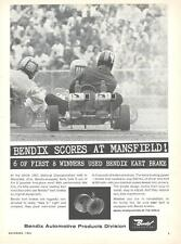 1961 Bendix Brakes Go Kart Ad/ 1961 GKCA Championship/Mansfield OH