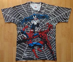 Marvel Comics, Maximum Carnage, Spider-Man, Venom, Carnage, 1993, Tshirt size L