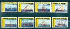 BATEAUX - BOATS MALDIVES 1985