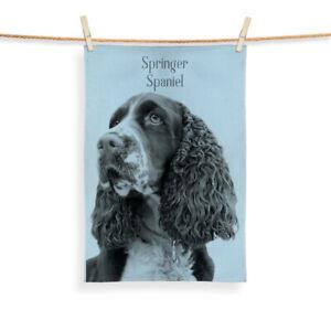 Springer Spaniel Design - Tea Towel