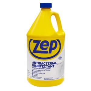 Zep Antibacterial virus Disinfectant & Cleaner  Lemon 1 Gallon anti bacterial