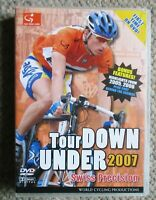 2007 Tour Down Under World Cycling Productions 3 DVD 5 hrs Elminger Very Clean