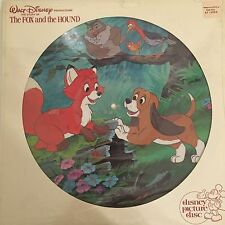 Walt Disney Fox and the Hound Picture Disk Sealed