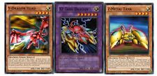 Yugioh - YZ-Tank Dragon(Super Rare) + Y-Dragon Head + Z-Metal Tank - NM/LP