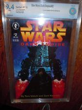 Star Wars: Dark Empire #2 CBCS 9.4 - NM Graded - Dark Horse Comics 1992