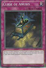 YU-GI-OH CARD: CURSE OF ANUBIS - LDK2-ENJ40 1ST EDITION