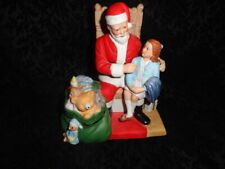 Rare Vintage 1986 Miracle on 34th Street Figurine Christmas Santa Free Shipping