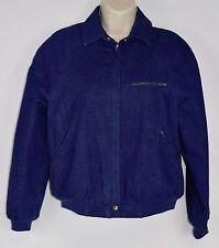 Rare Vintage JAG Australia Women's S Denim Jean Zip Bomber Jacket (Small)